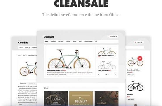 CleanSale WordPress / WooCommerce Theme