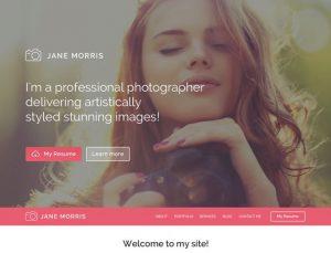 Photographer Portfolio WP Theme