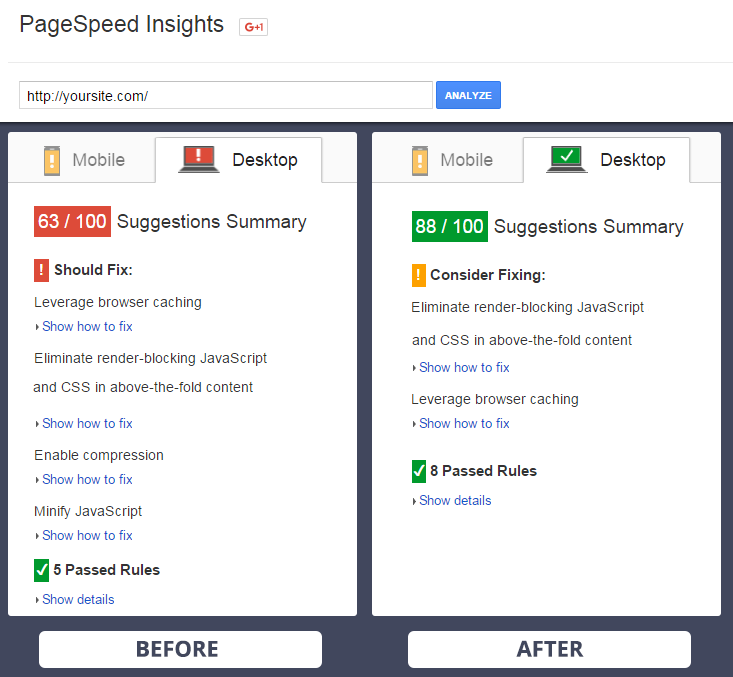 Google Page Speed Optimizer Magento Extension