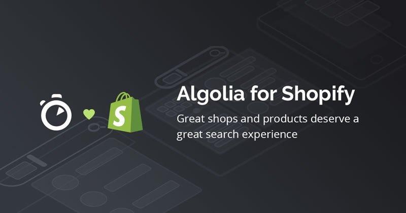 Shopify Algolia Search