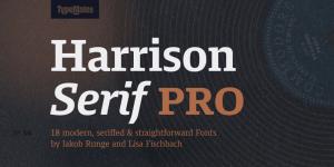 Harrison Serif Pro