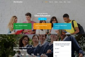 Ultra Education Theme