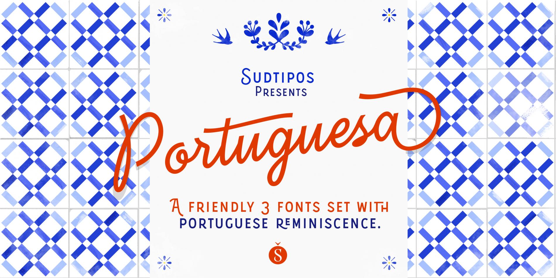 Portuguesa Set Font