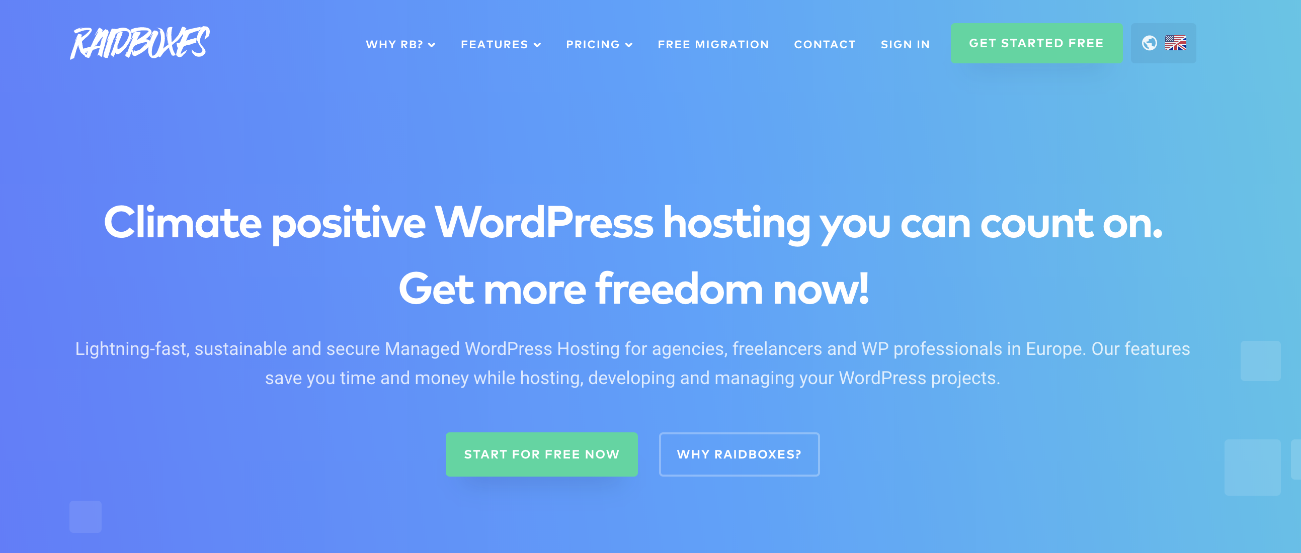 Climate Positive WordPress Hosting