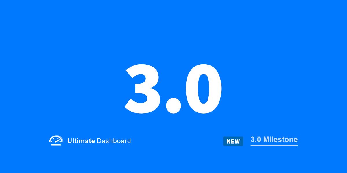 Ultimate Dashboard 3.0