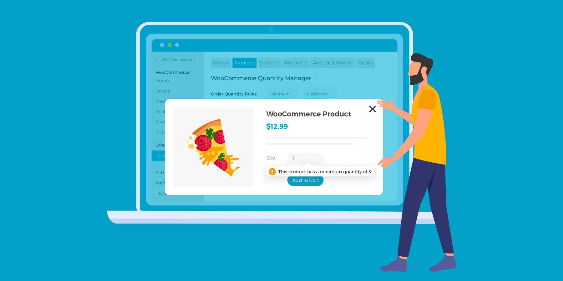 WooCommerce Quantity Manager
