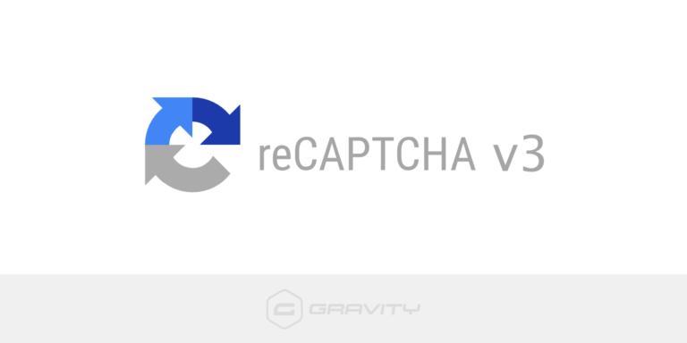 reCAPTCHA v3 Add-On