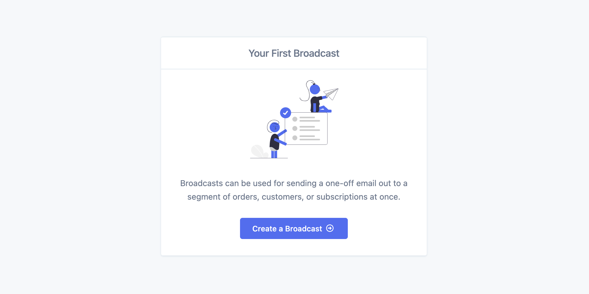 Engage Broadcasts