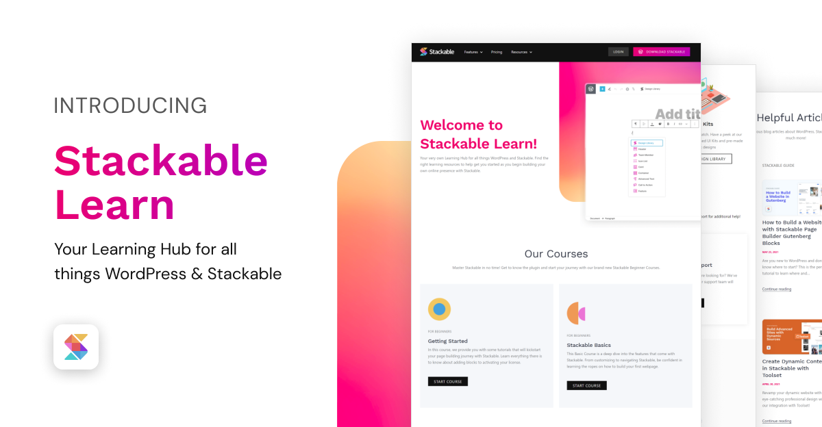 Stackable Learn