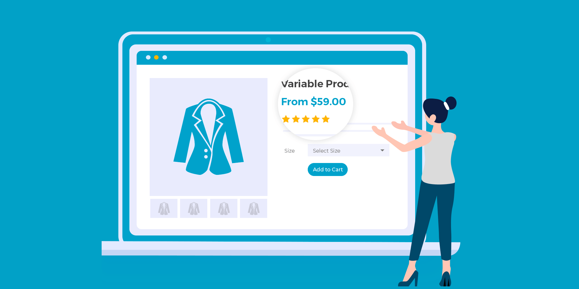 WooCommerce Variation Prices