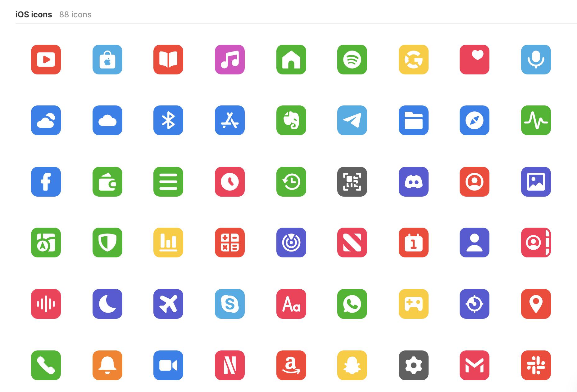 iOS 14 Icons