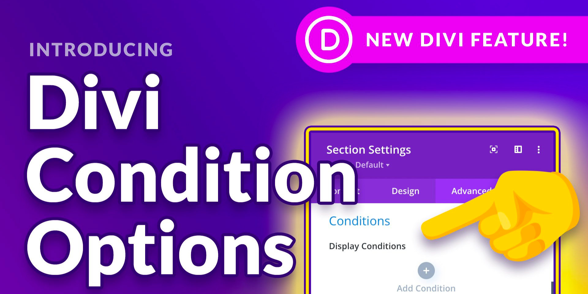 Condition Options