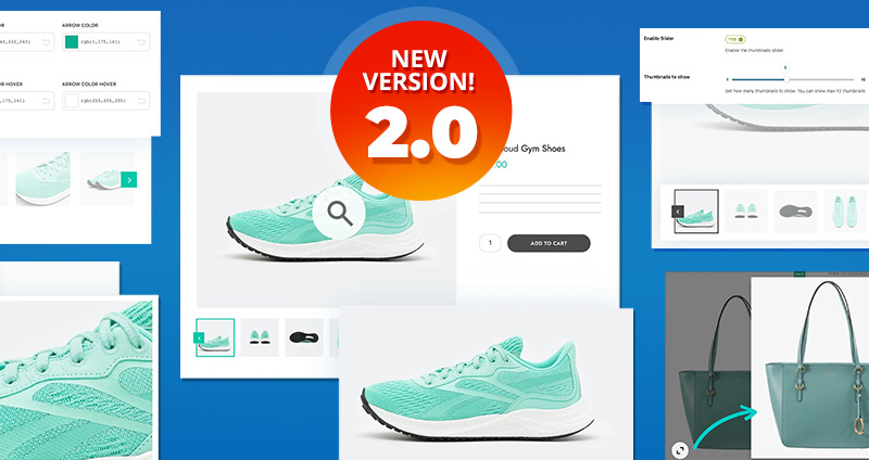 Product Gallery & Image Zoom